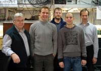 Rainer Blatt and his Team