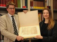 Egyptologists from the University of                          Wuerzburg