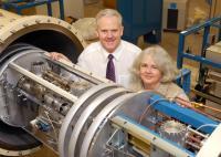 Professor Gerry McCormac and Dr. Paula Reimer, Queen's University Belfast