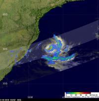 TRMM Sees 90Q's Rainfall