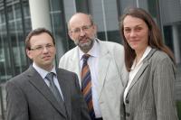 Axel Bales, Dr. Mathias Herrmann, and Kerstin Sempf, Fraunhofer-Gesellschaft