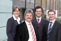 Dr. Simone Kondruweit, Dr. Lothar Schaefer, Dr. Markus Hoefer amd Markus Armgard, Fraunhofer-Gesells