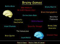 Neuroscience for Kids Website