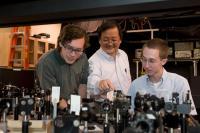 Choong-Shik Yoo, Washington State University, with Students