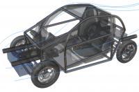 TUM Electromobility Concept Car Frame
