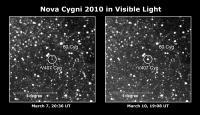 Nova Cygni 2010 in Visible Light