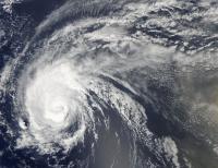 MODIS Visible Image of Hurricane Julia