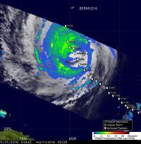TRMM Satellite Sees Hurricane Igor's Heavy Rainfall