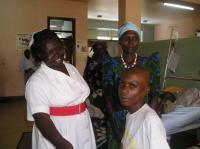 Ugandan Boy with 'Malnutrition Diabetes'