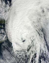 Hurricane Igor Over Newfoundland, Canada
