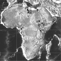 Scarcity of Cenozoic Africa Paleobotanical Sites