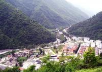 Wolong Landslide -- Before