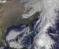 GOES-13 Image of Hurricane Tomas