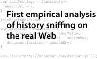 Web Surfing History Accessible Via JavaScript