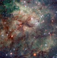 Hubble Snaps Close-up of the Tarantula