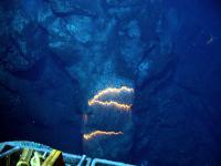 Deep-Sea Volcano Eruption