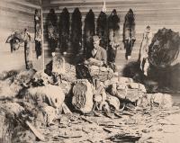 Canadian Fur Trader Circa 1890s