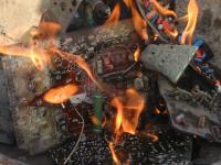 E-waste Burning