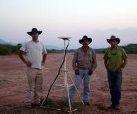 GPS Unit in the Field