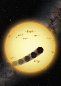 A Retrograde Hot Jupiter