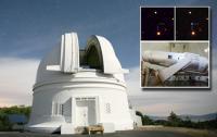 Samuel Oschin Telescope and a Supernova