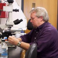 John McCarrey in Lab