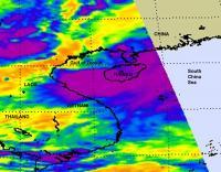 NASA Infrared Image of Haima