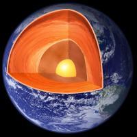 Cutaway Earth