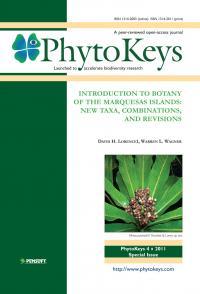 PhytoKeys 4 Cover