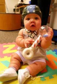 Baby with EEG