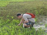 Osamu Miura Collecting Snails