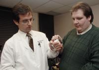 Dr. Jeffrey Cadeddu and Richard Bergs, UT Southwestern Medical Center
