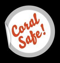 Coral Safe Sticker