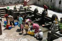 Water Spout in Kathmandu, Nepal (1 of 2)