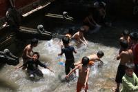 Water Spout in Kathmandu, Nepal (2 of 2)
