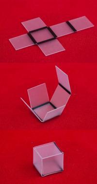 Light-Sensitive Self-Folding Materials