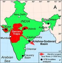 Deccan Trap Map