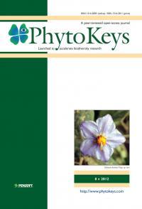 PhytoKeys 8 Cover
