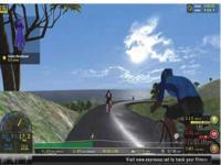 Cybercycle Bike Tour Screen