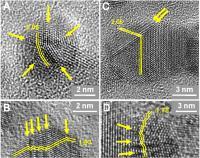 Images of Single and Twinned Nanodiamonds