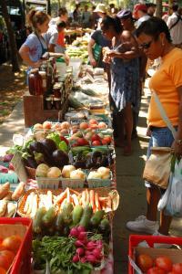 The Food Trust's Clark Park Farmers' Market in Philadelphia