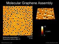 Assembling Molecular Graphene