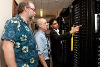Robert McDowell, Stewart Dotts and Sandeep Patel, Newark High School and University of Delaware