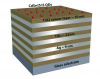 Graphic of 'Nanostructed Metamaterial'