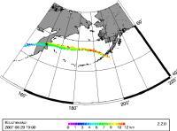 Far-reaching Affects -- Volcanic Ash Spans from Kamchatka to Alaska's Unimak Island