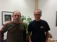 Ulrich Technau und Yehu Moran, University of Vienna