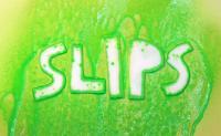 Slips Text Resisting Liquid