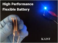 High Performance Flexible Battery