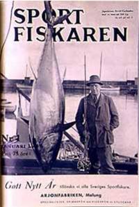 A Swedish Sport Fishing Magazine, Jan. 1946