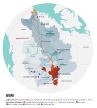 Canada's Massive Mackenzie River Basin